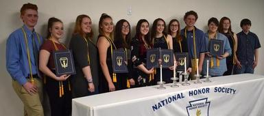 Seven Valleys holds first National Honor Society Induction Ceremony