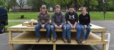 CTE students work for our communities
